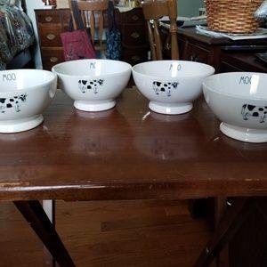 Rae dunn farm line Cereal bowls